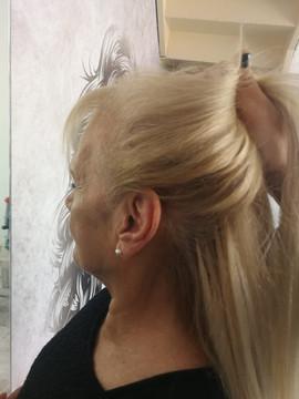 חיבור מושלם של תוספות שיער