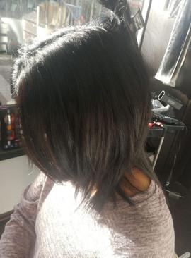 לפני חיבור תוספות שיער