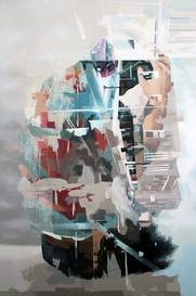root, 2011, oil - canvas, 120x180 cm