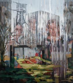 Partie, 2020, oil-canvas, 93x82 cm