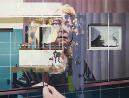 Gala, 2015, oil - canvas, 118x155 cm