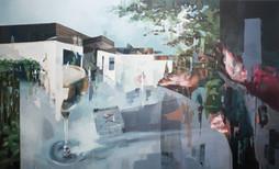 Trost, 2018, oil-canvas, 150x91 cm