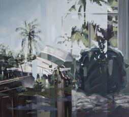 gestrandet,2017, oil-canvas, 69x62cm