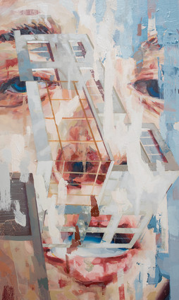 Zuckerkandl, 2020, oil-wood, 30x50x6 cm