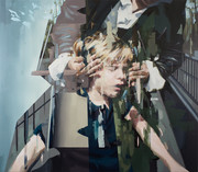 bewahrt,2017, oil - canvas, 160 x 140 cm