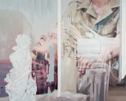Herr K, 2017, oil-canvas,155x125cm