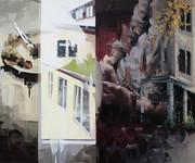 Fenster irgendwo, 2011, oil - canvas, 150x125