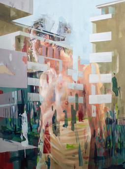 Terrarium, 2020, oil-canvas, 120x90 cm