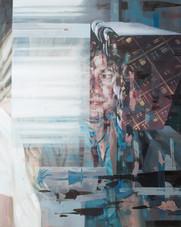 Domäne, 2018, oil-canvas, 70x88 cm