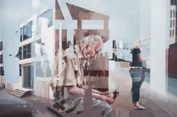 warten, 2016, oil canvas, 120x80 cm
