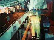 Feierabend II, 2012, oil - canvas, 40 x 60 cm