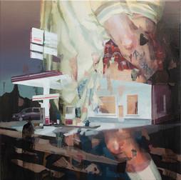 ACAB, 2018, oil-canvas, 40x40 cm