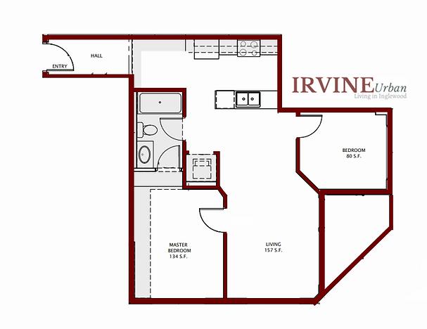 Irvine In Inglewood 2 bedroom