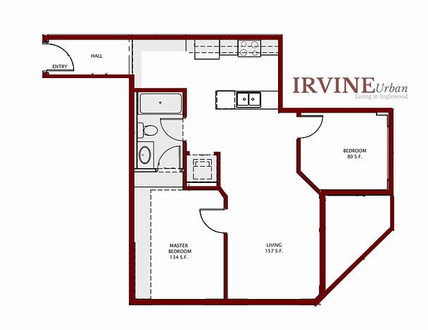 Floorplan Irvine In Inglewood