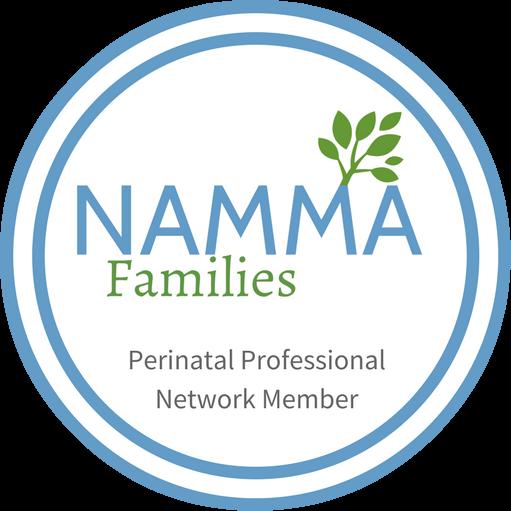 NAMMA Families Perinatal Professional Network Member Badge