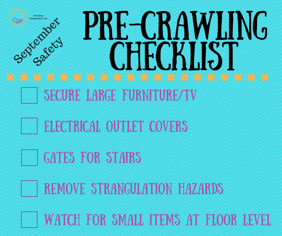 Pre-Crawling Safety Checklist
