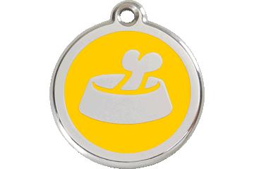 Médaille Bol avec Os