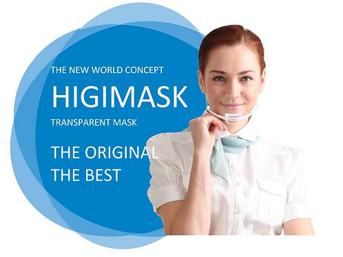 One box of 10pcs. Higimask Esthetics Face mask