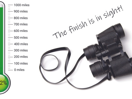 The finish is in sight!