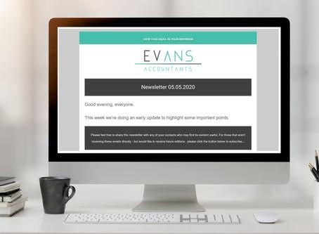 Coronavirus Newsletter 05.05.2020