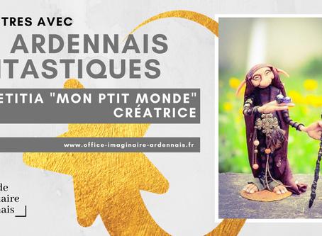 """Rencontre avec Lætitia """"Mon Ptit Monde"""", créatrice Ardennaise."""
