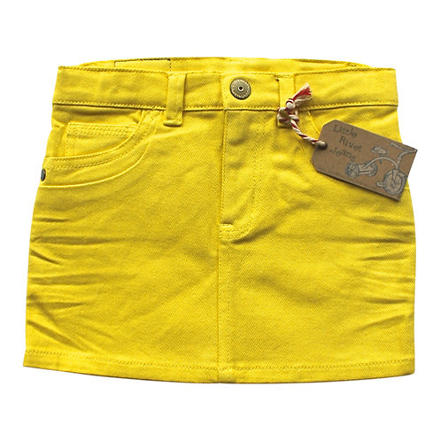 Sunny Skirt --- Finnish Yellow
