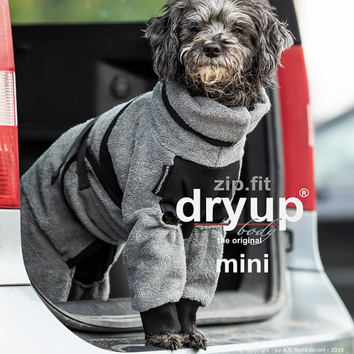 Hundebademantel DRYUP body ZIP.FIT mini