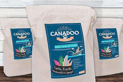 Canadoo Adult Lachs Forelle Süsskartoffel & Spargel