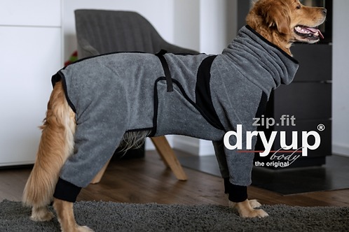Hundebademantel DRYUP body ZIP.FIT