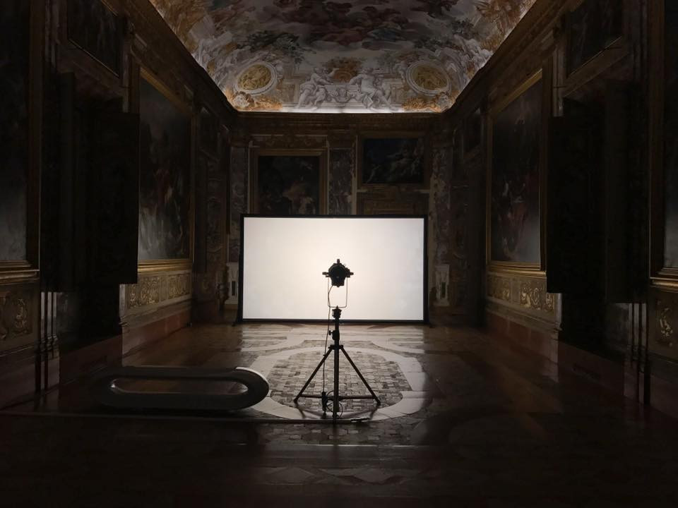 INVISIBLE NATURE an interactive video installstion by Rino Stefano Tagliafierro