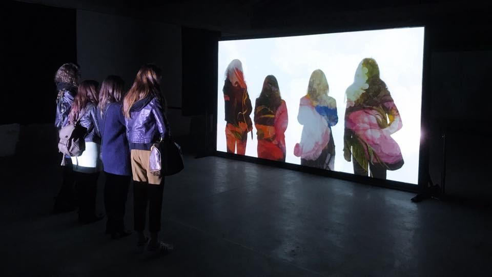 INVISIBLE NATURE an interactive video installstion by Rino Stefano Tagliafierro