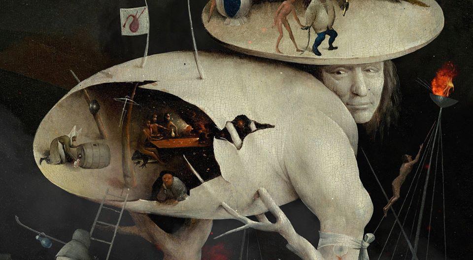 Tríptiko. A vision inspired by Hieronymus Bosch