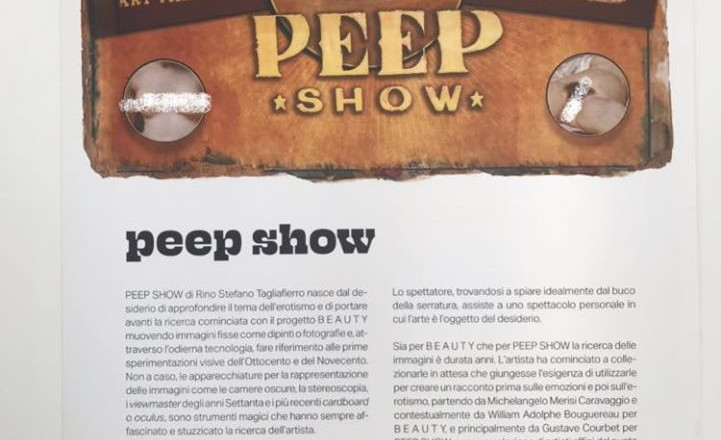 PEEP SHOW BOX - VEDO NUDO