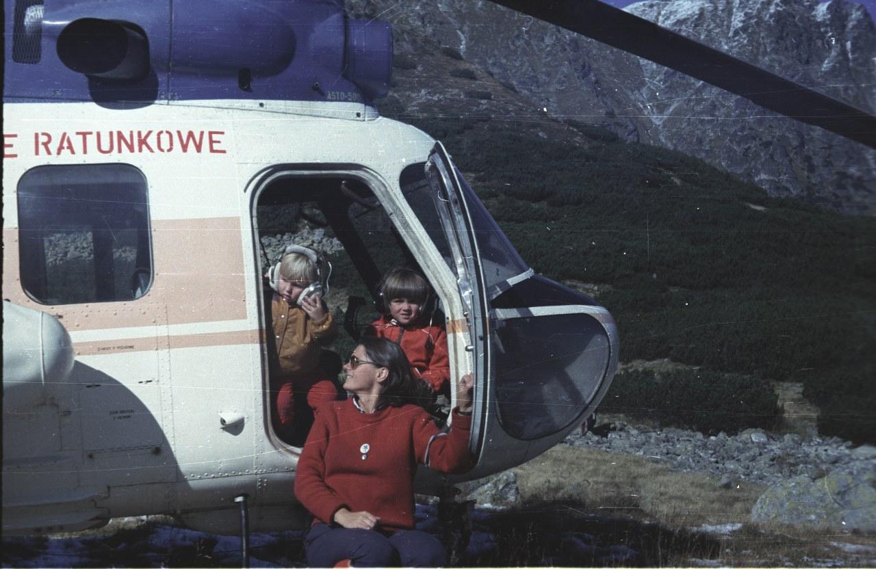 Monika Rogozińska z synami