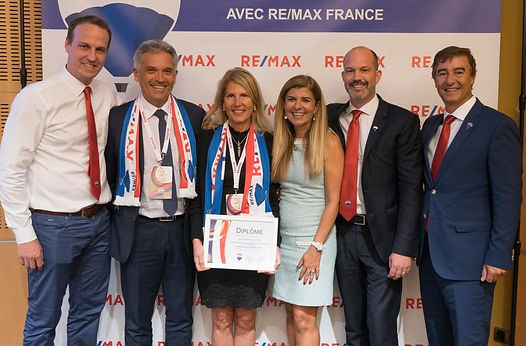 Agence n°1 en chiffe d'affairese chez RE/MAX FRANCE 2019