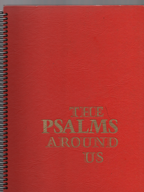 The Psalms Around Us Book Journal