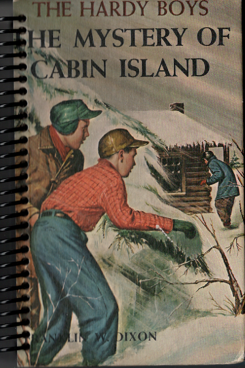 The Mystery of Cabin Island Pocket  Journal