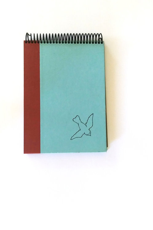 The Apartment House Tree - Steno Pad Journal