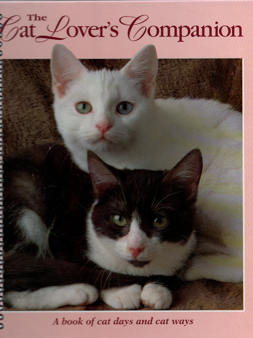 The Cat Lover's Companion Book Journal
