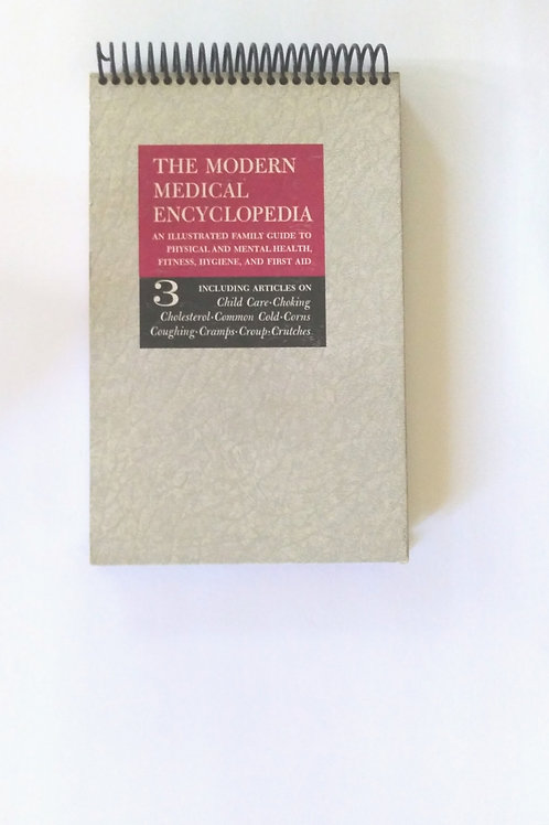 The  Modern Medical Encyclopedia Steno Pad Journal