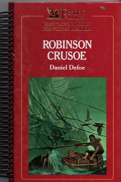Robinson Crusoe Book Journal