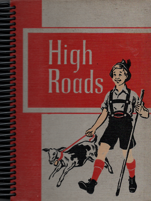 High Roads Book Journal