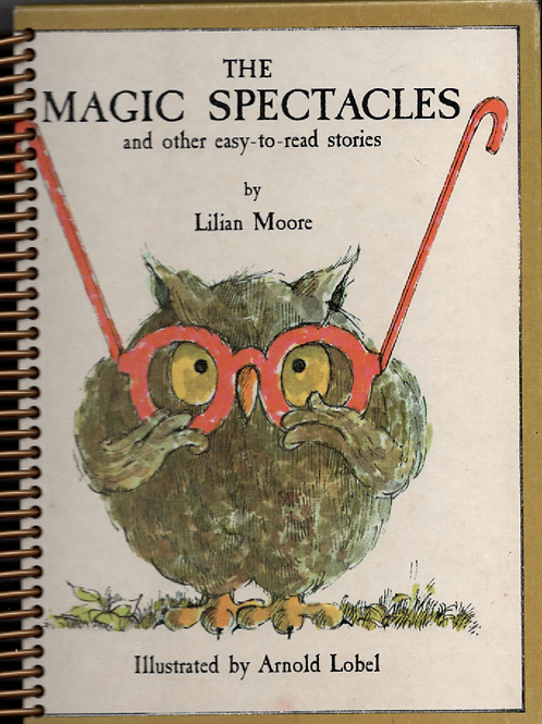 The Magic Spectacles Book Journal