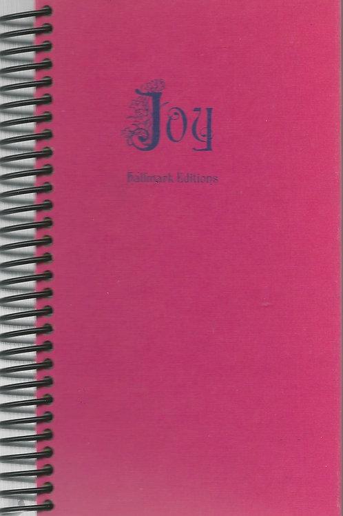 Joy Pocket Book Journal