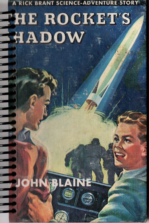 The Rocket's Shadow Pocket Book Journal
