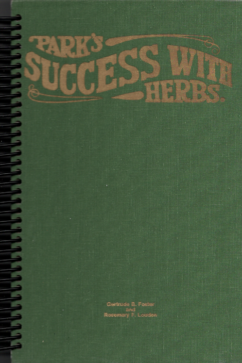 Success with Herbs Book Journal