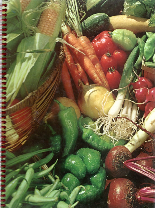 Vegetables and Fruits Book Journal