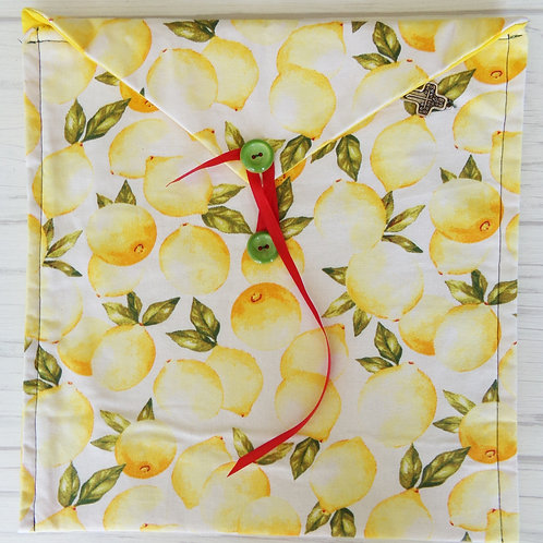 Lemon Book Journal Sleeve