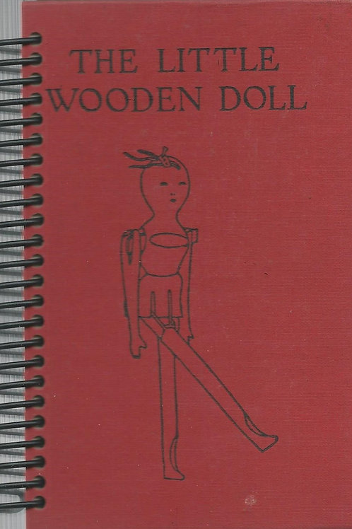 The Little Wooden Doll Pocket Book Journal