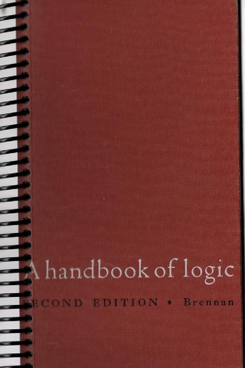 A Handbook of Logic Pocket Book Journal